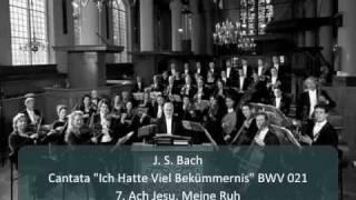 """J. S. Bach - Cantata """"Ich Hatte Viel Bekümmernis"""" BWV 21 - 7. Ach Jesu, Meine Ruh (Rec. 7/11)"""