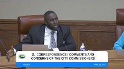 City of Pahokee, FL - Workshop / Commission Meeting 4/23/19