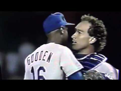 NY Mets Sweep LA Dodgers At Dodger Stadium 1988