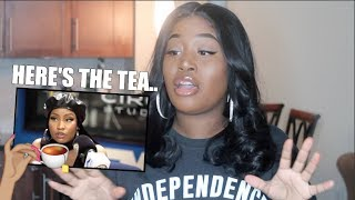 NICKI, SIS...WE NEED TO TALK! | HOT 97 INTERVIEW REACTION + RECIEPTS