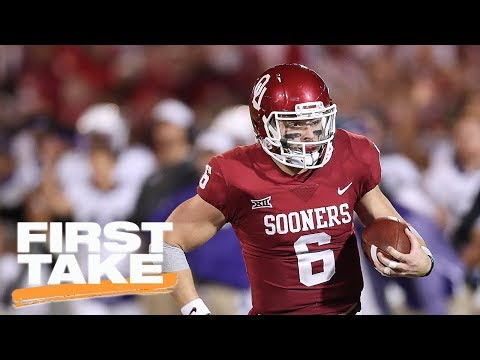 First Take and Tim Tebow discuss Baker Mayfield's NFL potential | First Take | ESPN