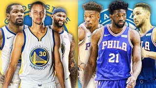 RANKING THE BEST BIG 3 FROM EACH NBA TEAM