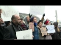 Protest held outside JFK airport after Iraqi men detained