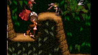 Let's Play Donkey Kong Country 1 World 1  part 2.avi