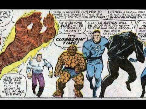 Black Panther's First Appearance: Fantastic Four #52 & #53 (1966 Marvel comics)