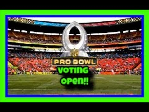 Who I voted for and why. 2018 NFL Pro-Bowl!!
