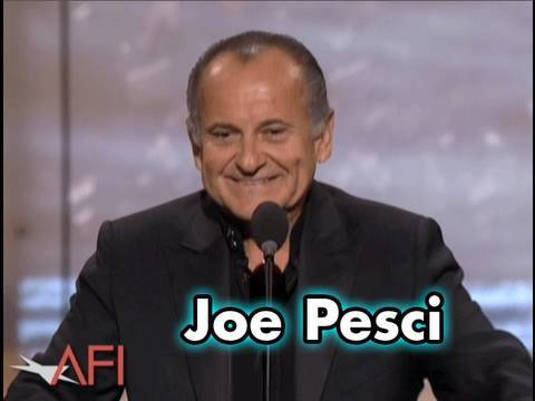 Joe Pesci Salutes Robert De Niro at AFI Life Achievement Awa