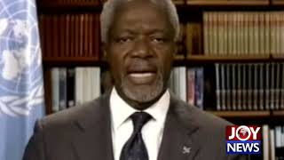 Parting words of the late Kofi Annan when he left UN. (18-08-18)
