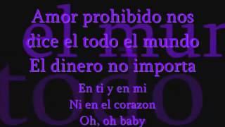 Amor Prohibido Selena letra