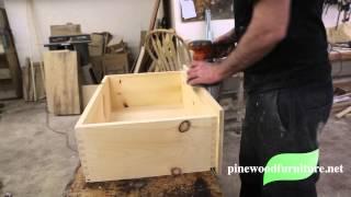 Pinewood Furniture: The Finishing Process