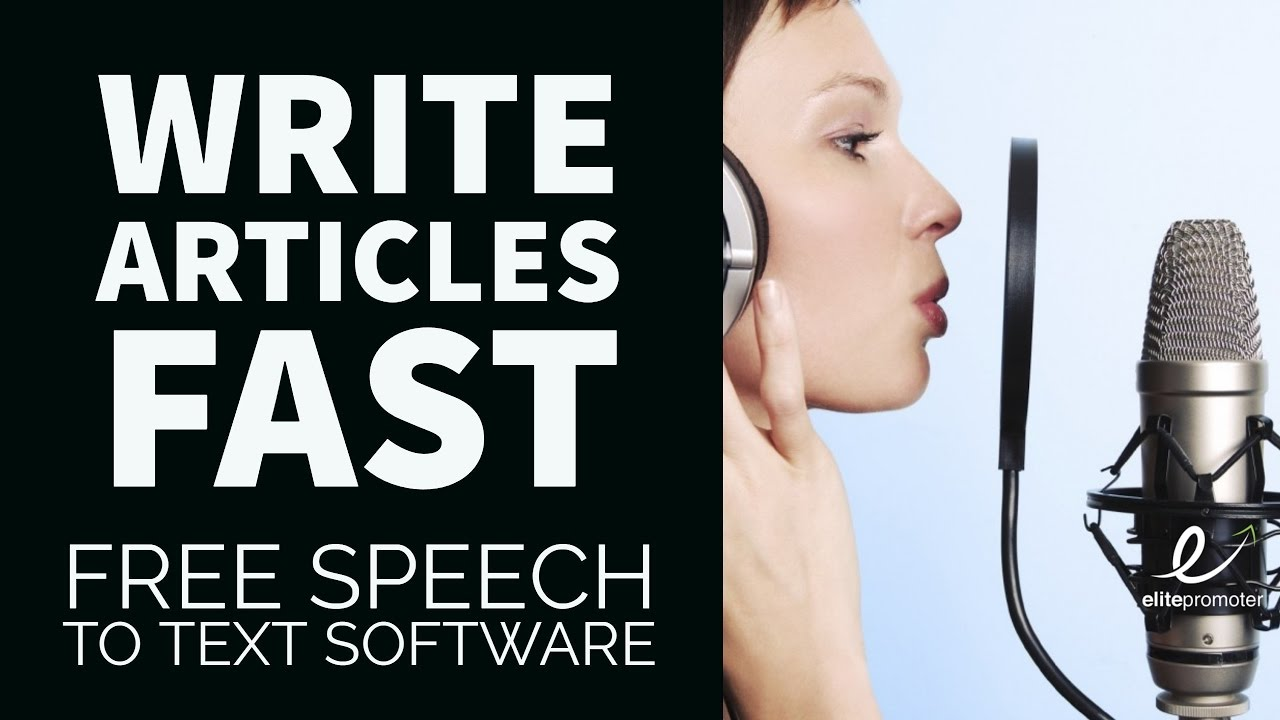 how to write a speech fast
