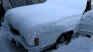 1989 Lincoln Town Car - -40F Start Attempt