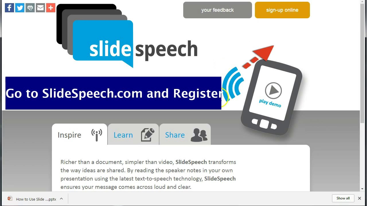 how to create a slide speech from google slides youtube