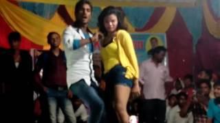 New Bhojpuri Arkestra Dance 2017    ढोढ़ी में कजरवा लगवा ल !