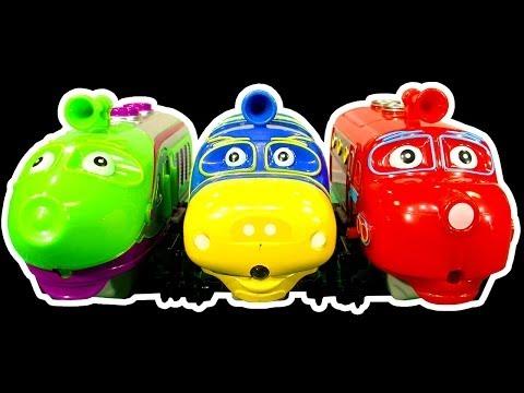 Chuggington Brewster Koko Wilson Traintastic Dark Side Knock Off Ep1 - Thomas The Tank Mystery