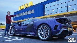 I Took My McLaren to IKEA!