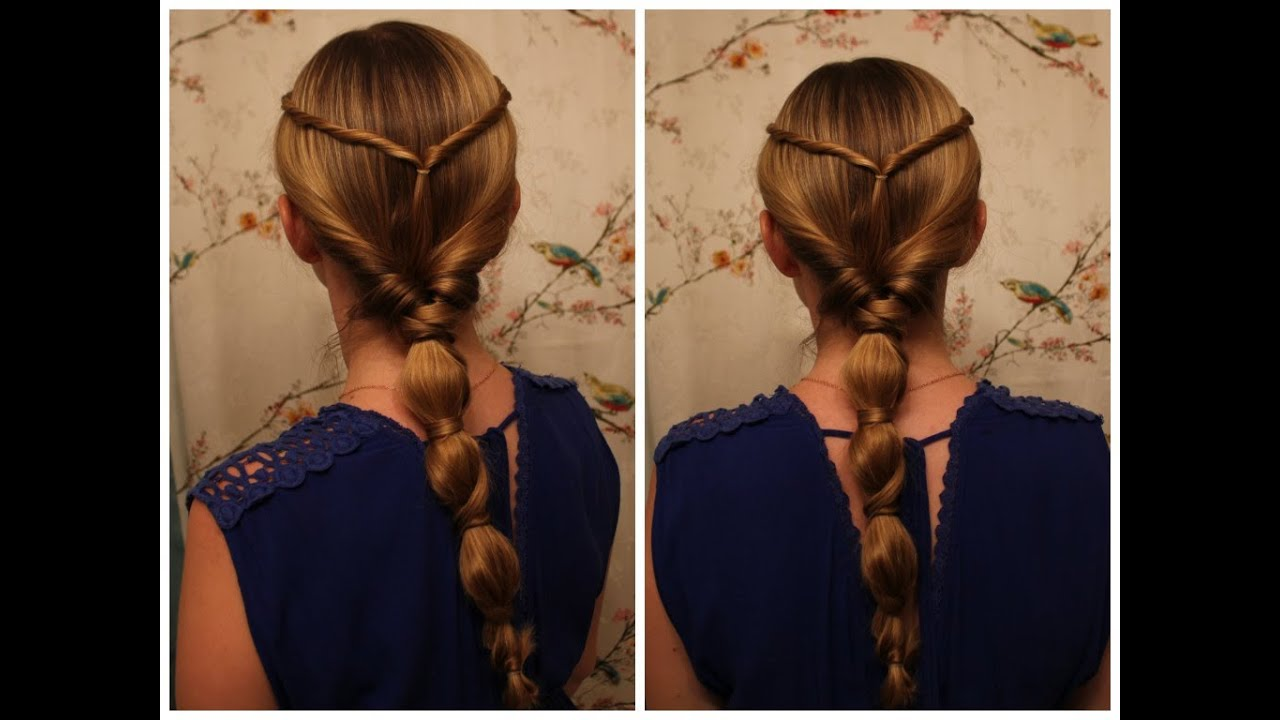 Queen Hairstyles: Wrapped Ponytail Inspired By Philippa Gregory's, The White