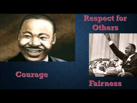 Dr. Martin Luther King Jr. lesson for early elementary