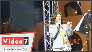 بالفيديو.. شيرين عبد الوهاب لجمهورها