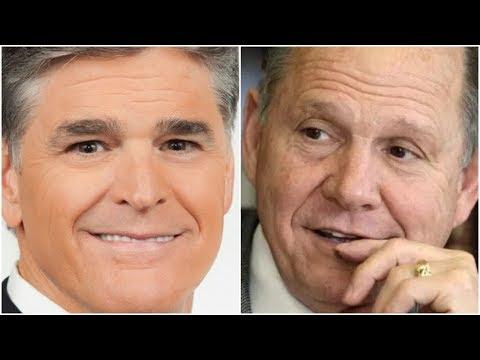 Sean Hannity Breaks With Trump, Endorses Judge Roy Moore