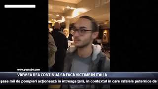 Vremea rea continua sa faca victime in Italia