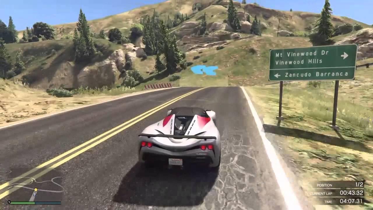 GTA Racing #3   Turismo R - YouTube