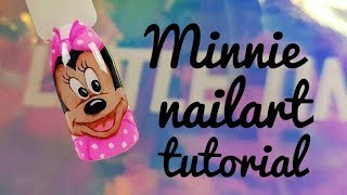 💅💅 Icon Nailart 💅💅 :: Minnie Mouse :: Nailart by Natalia