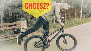 Chcesz mój rower? Wypożycz street-trial.