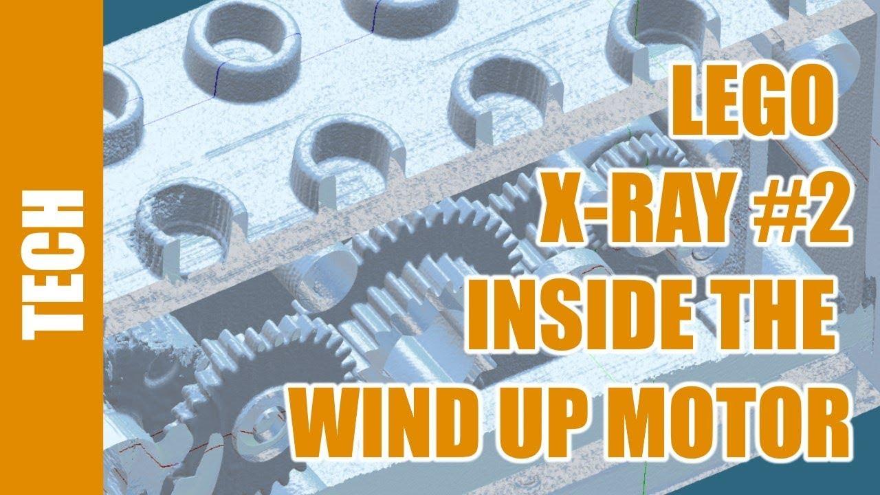 Lego Under X Ray 2 Wind Up Motor Youtube