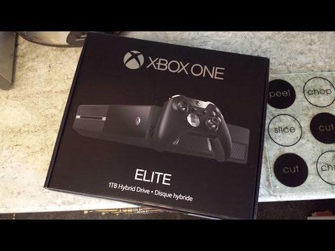 Видео с распаковкой бандла Xbox One Elite появилось в сети