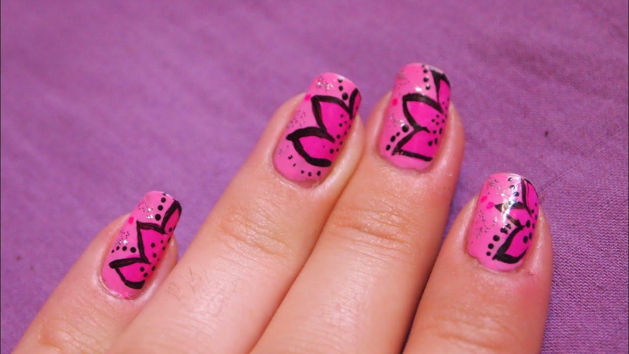nail art a la peinture acrylique