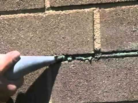 Basalite Concrete Products How To Repair Mortar Joints