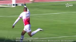الجيش الملكي 0-1 الوداد الرياضي هدف إسماعيل الحداد في الدقيقة 17