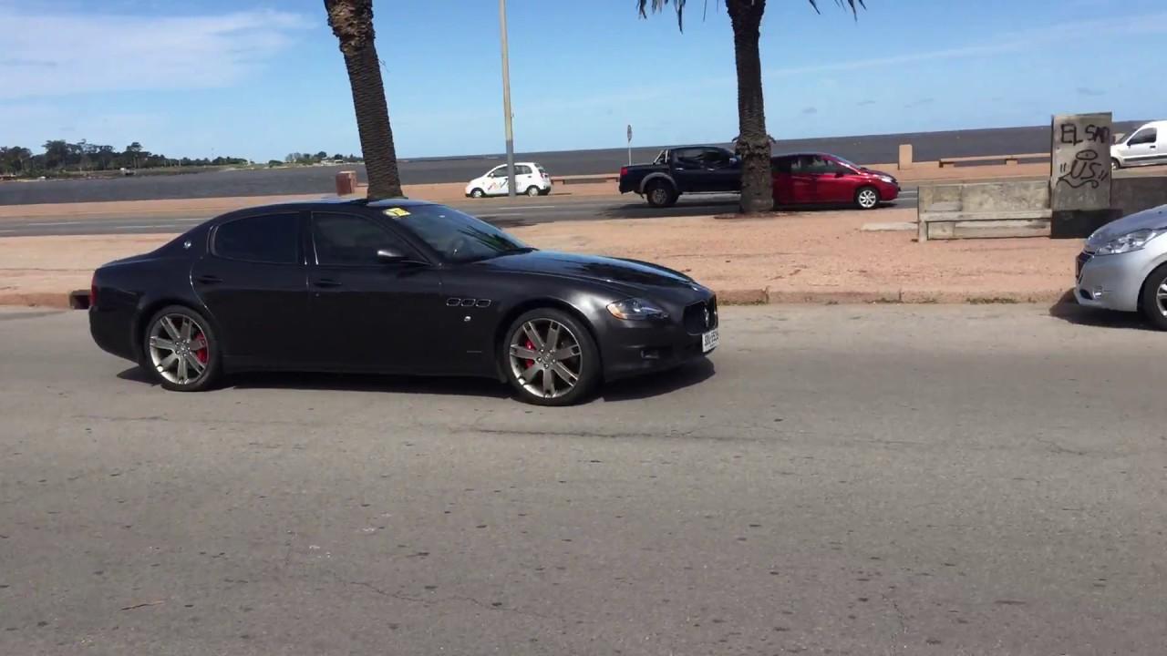Maserati Quattroporte 2011, Montevideo. Exhaust Sound   YouTube