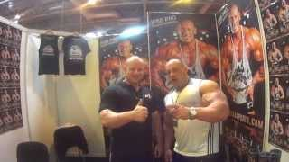 Robert Burneika pozdrawia Barbell Brothers - Body Power Expo 2015 2017 Video