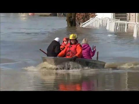 مقتل شخص و نزوح 1700 بسبب فيضانات بكيبيك الكندية  - نشر قبل 2 ساعة