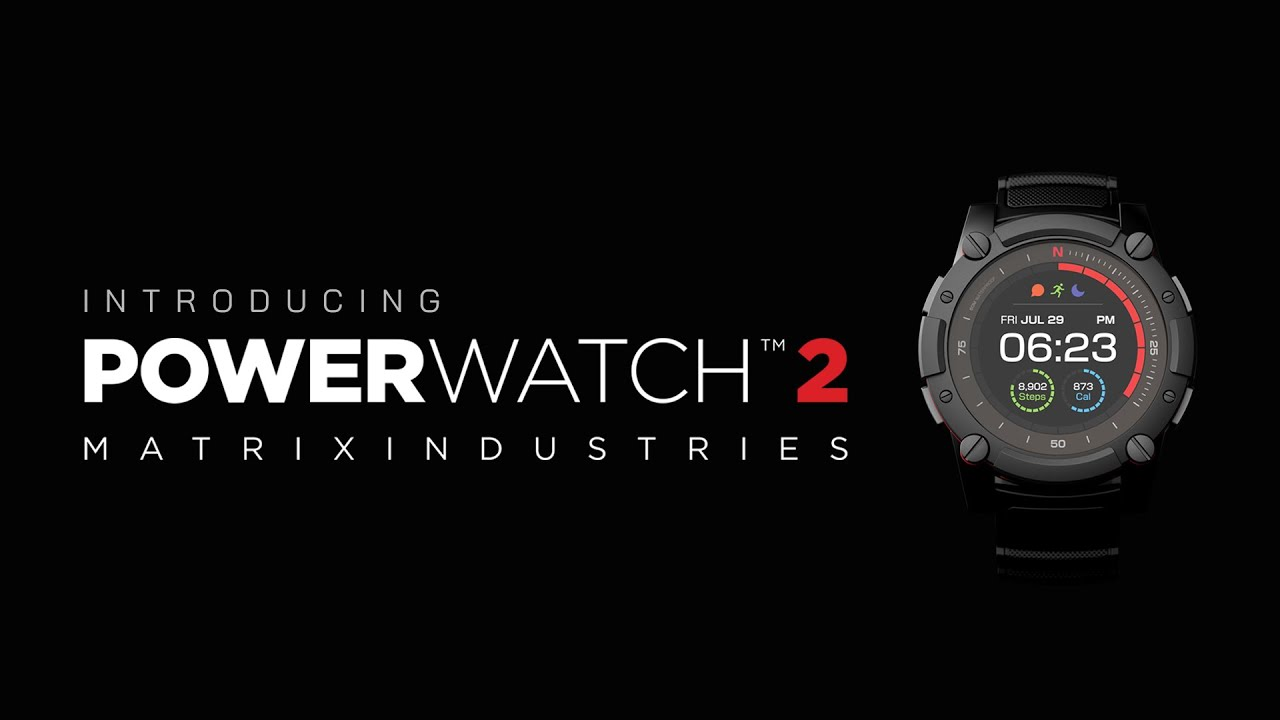 Matrix PowerWatch 2 - The Most Powerful Watch in the World ...