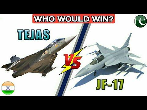 India's Tejas Vs Pakistan's JF-17 Thunder - India Vs Pakistan Aircraft Comparison (Hindi)