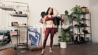 What I actually eat in a day (& my relationship with food)