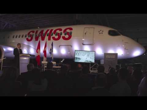 First SWISS CS300 Aircraft Delivery