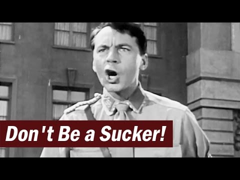 Post-WW2 Anti-Fascist Educational Film | Don't Be a Sucker | 1947