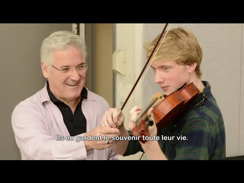 Pinchas Zukerman on performing, teaching, and the stomach it takes to be a musician