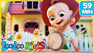 Gambar cover Yankee Doodle 🤠 Educational Songs for Children | LooLoo Kids