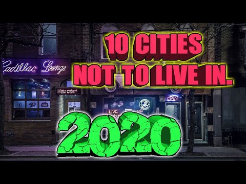 Best State To Retire In 2020.10 Cities You Don T Want To Live In 2020