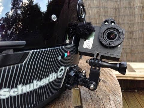 GoPro Hero3 Black sound tests - DeadCatDotGP wind filter vs. No filter
