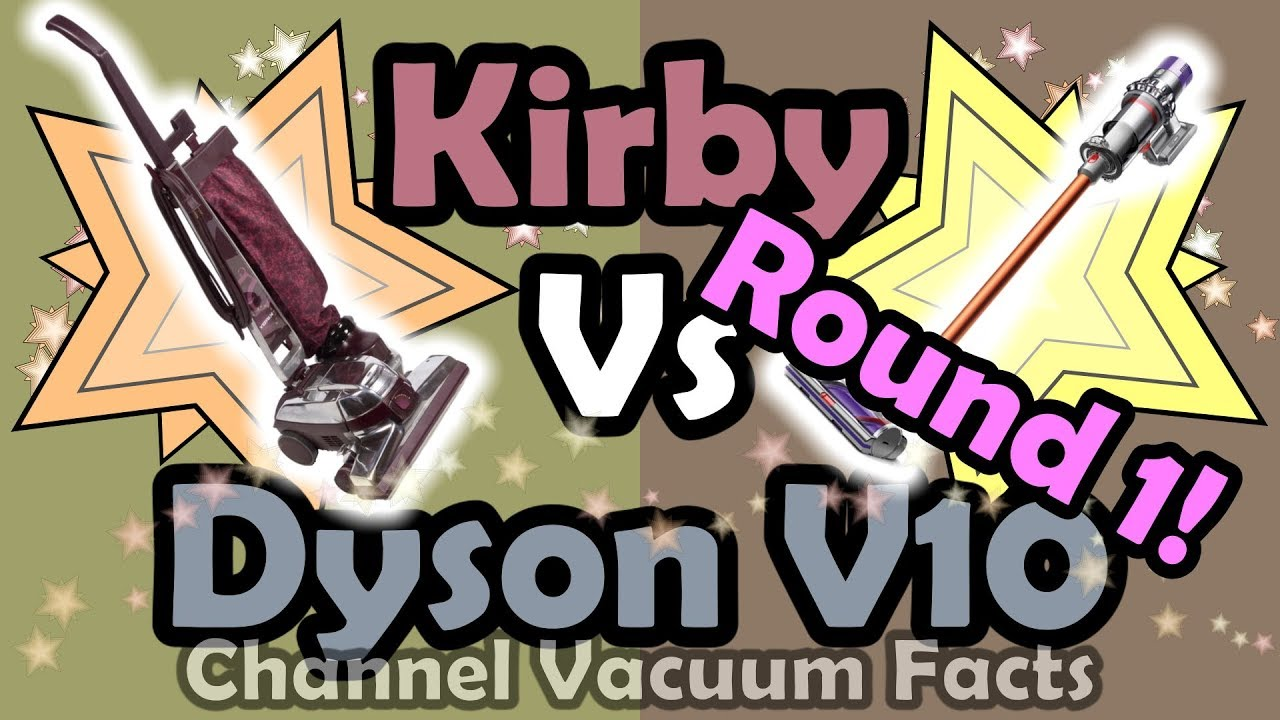 Dyson V10 Vs Kirby How Well Does A Kirby Vacuum Really Clean Youtube