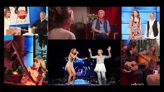Download Taylor and Ellen - The most memorable moments (2008-2015) Mp3 and Videos