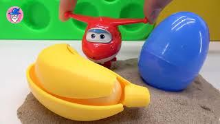 超级翅膀玩具插曲2_Color与颜色块学习。站在户外沙滩上。