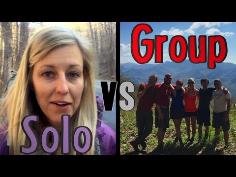 Thru-hiking Solo vs Thru-hiking With a Group