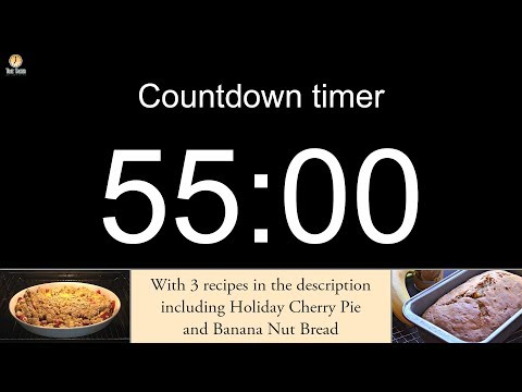 55 minute Countdown timer (with alarm)